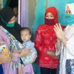 Kunjungi Balita Gizi Buruk, Winarni Imbau Masyarakat Untuk Rutin Periksakan Anak Ke POSYANDU