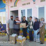 Rumah Zakat Bersama HNI Salurkan Sembako kepada korban Banjir di Sungai Penuh