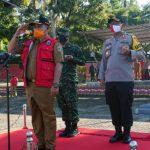 Terapkan New Normal, Pemkab Lampung Selatan Gelar Apel Penegakan Disiplin Protokol Kesehatan