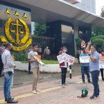 Gelar Aksi Di Kejagung, PERMAK Tuntut Usut Tuntas Mega Korupsi Jiwasraya