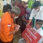Bupati Lamteng Serahkan Bantuan Langsung Tunai Dana Desa
