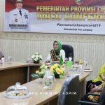 """Bunda PAUD Ibu Riana Arinal Buka Telesimposium IX IDI Cabang Lampung Timur, Usung Tema """"Kesehatan dan Pendidikan Anak di Era New Normal"""""""