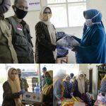 Nanda Indira Dendi Serahkan Bantuan Paket Sembako Kepada Pelaku Usaha