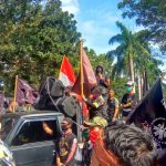 Tolak RUU-HIP, Ratusan Massa GMBI Demo DPRD Lamsel