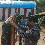 Tinjau dan Evaluasi, Tim Waseb Mabes AD Beri Apresiasi Kegiatan TMMD di Desa Hatta Bakauheni