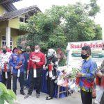 Wabup Hadiri Launching Program Satu Rumah Satu Kentongan Di Pringsewu Utara