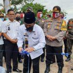 Plt. Bupati Lampura, H. Budi Utomo Secara Simbolis Resmikan Kampung Tangguh Nusantara di Desa Arum Kotabumi
