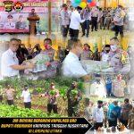Dir Binmas Bersama Kapolres dan Bupati Resmikan Kampung Tangguh Nusantara di Lampura