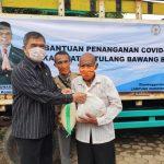 Masa Reses, Junaidi Auly Kembali Distribusikan Bahan Pokok ke Masyarakat