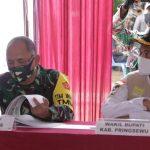 Tim Wasev Mabes TNI AD Tinjau TMMD Ke-108 Di Pringsewu
