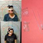 """Simpan Sabu, """"HR"""" bersama Teman Wanitanya Dibekuk Polisi"""