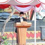 Nanang Salat Idul Adha 1441 Hijriah bersama Warga di Lapangan Korpri Kalianda