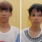 Bobol Toko di Lamsel, Dua Pemuda Ini Diringkus Polisi