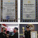 Jadi Polisi Teladan, Bhabinkamtibmas Jagabaya III Raih Pin Perak Kapolri dan Penghargaan Kapolda Lampung