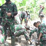 Giat TMMD Capai 90 Persen, TNI AD Adakan LKJ Guna Beri Motivasi Warga Desa
