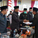 DPRD Kabupaten Lampung Selatan setujui Raperda Pelaksanaan APBD 2019 jadi Perda