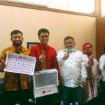 Kunjungi  Disbudpar Sulsel, Tim Si Sipa sosialisasikan produk Accareng