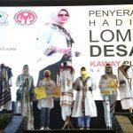 Penyerahan Penghargaan Lomba Desain Kaway Plastik 2020, Gubernur Arinal Apresiasi IIPG dan Dekranasda atas Bangkitnya UMKM Bidang Fashion