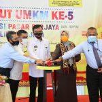 HUT UMKM ke-5, Pemprov Lampung Launching Aplikasi Pasar Berjaya dan Ojesa untuk Dorong Peningkatan Perekonomian UMKM