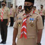 Nanang Terima Penghargaan Pancawarsa Kelas 3 Gerakan Pramuka Lampung
