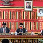 Bupati Lampung Selatan dan Forkopimda Saksikan serta dengarkan Pidato Kenegaraan Presiden Jokowi