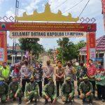Polda Lampung Launching Kampung Tangguh Ruwa Jurai