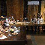 Gubernur Ajak Bupati/Walikota Tetap Waspada dan Terus Terapkan Disiplin Protokol Kesehatan.