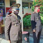 Danramil 421-10 KTB . Kapten inf Sukandi Bacakan Teks Proklamasi di Upacara HUT RI Ke 75 di Kecamatan Katibung.
