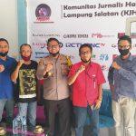 Kapolres lamsel Silaturahmi Ke Sekretariat KJHLS