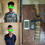 Maling Hp di Sragi Dua Pemuda Di Tangkap Polisi