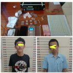 Dua Tersangka Pengedar Narkoba Di Tangkap Polisi