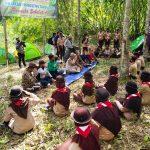 Ka Kwarcab Pringsewu Tutup Kegiatan Jungle Survival Pramuka