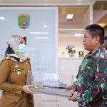 Kunjungan Danlanal Kolonel Marinir Amrul Ardiansyah, Pemprov Apresiasi atas Sinergitas yang Dibangun Pangkalan TNI AL Lampung