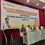 Bawaslu Gelar Workshop Penanganan Pelanggaran Kode Etik Panitia Ad-Hoc Se-Kota Bandar Lampung.