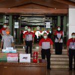 Peduli Covid-19, Presdir JNE Serahkan Donasi 250 Juta kepada Gubernur Jawa Tengah
