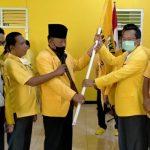 Hi. Arnol Alam, SH, Kembali Terpilih Pimpin DPD II Partai Golkar Kab. Lampura