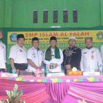 Plt Bupati Lampura Menghadiri Kegiatan MKKS Tingkat SMP Se-Kab. Lampura di Desa Suka Maju