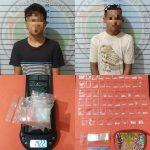 Diduga Dua Pengedar Sabu Diringkus Satres Narkoba Polres Lampura