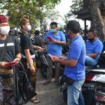 Wujud Edukasi Prokes, Forkom Antar Media Bali Bangkit Bagikan 5000 Masker