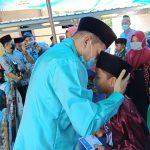 Santuni Kaum Duafa di Sidomulyo, Hipni Intens 'Gaungkan' Program S-3