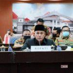 Bupati Lampung Selatan Sampaikan Raperda Perubahan APBD TA 2020