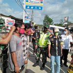 Sinergitas TNI - Polri - Pemerintah Daerah Guna Memutuskan Mata Rantai Penyebaran COVID 19.