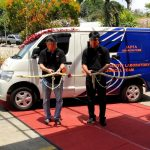 STP unit Aquafeed Lampung, Luncurkan Fasilitas Laboratorium keliling