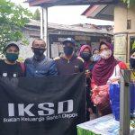 Luar Biasa, Ikatan Keluarga Santri Depok (IKSD) Salurkan Bantuan Kepada Korban Kebakaran di Depok 1 Jawa Barat