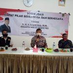 Sosialiasi 4 Pilar, Anggota MPR Junaidi Auly Tegaskan Ulama Adalah Pemersatu Bangsa
