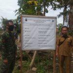 BABINSA 421-10 KTB Kawal Dana Desa Pembangunan Gedung Paud