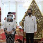 Ketua Umum PB PGRI Sampaikan Perjuangan PGRI Langsung Ke Presiden Jokowi