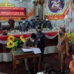 DPRD Lampura Gelar Rapat Paripurna Pembahasan Rancangan Perubahan KUA-PPAS TA. 2020
