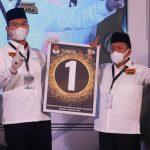 Nomor Urut Calon Wali Kota Dan Wakil Wali Kota Bandar Lampung Sudah Di Tetapkan