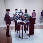 Sembilan Pejabat Pimpinan Tinggi Pratama Pemkab Pringsewu Dilantik